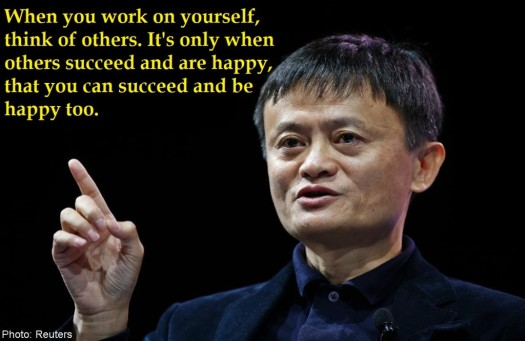 JACK MA ADVICE FOR DIFFERENT AGE GROUP
