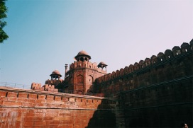 The Red Fort from the outside